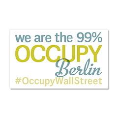 Occupy Berlin Car Magnet 20 x 12