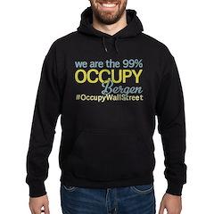 Occupy Bergen Hoodie (dark)