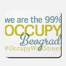 Occupy Beograd Mousepad