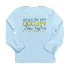 Occupy Bennington Long Sleeve Infant T-Shirt