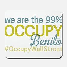 Occupy Benito Ju?rez Mousepad