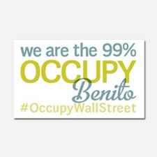 Occupy Benito Ju?rez Car Magnet 20 x 12