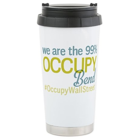 Occupy Bend Stainless Steel Travel Mug