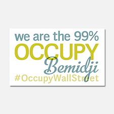 Occupy Bemidji Car Magnet 20 x 12