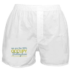 Occupy Bellingham Boxer Shorts