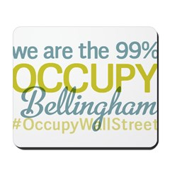 Occupy Bellingham Mousepad