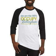 Occupy Bellingham Baseball Jersey