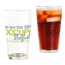 Occupy Belfast Drinking Glass