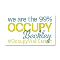 Occupy Beckley Car Magnet 20 x 12