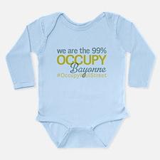 Occupy Bayonne Long Sleeve Infant Bodysuit