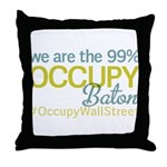 Occupy Baton Rouge Throw Pillow