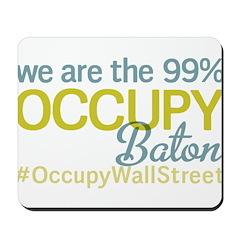 Occupy Baton Rouge Mousepad