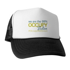 Occupy Baton Rouge Trucker Hat