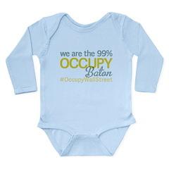 Occupy Baton Rouge Long Sleeve Infant Bodysuit
