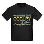 Occupy Baton Rouge Kids Dark T-Shirt