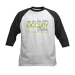 Occupy Baton Rouge Kids Baseball Jersey