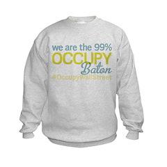 Occupy Baton Rouge Sweatshirt