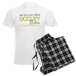 Occupy Baton Rouge Men's Light Pajamas