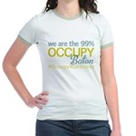 Occupy Baton Rouge Jr. Ringer T-Shirt