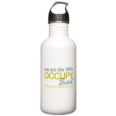 Occupy Basel Water Bottle