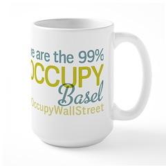 Occupy Basel Large Mug