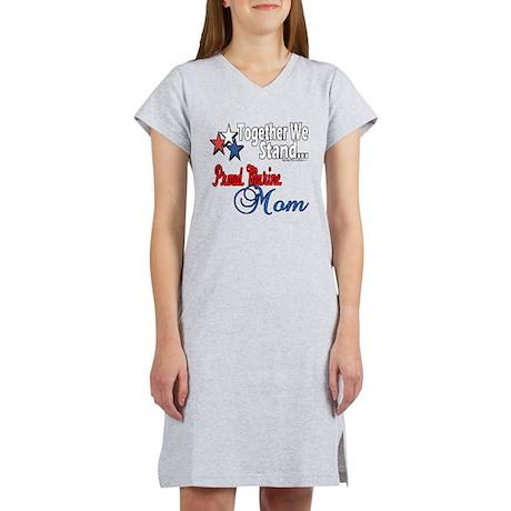 Proud Marine Mom Women's Nightshirt