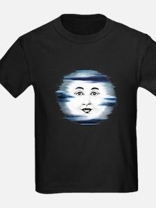 Blue Moon Face T