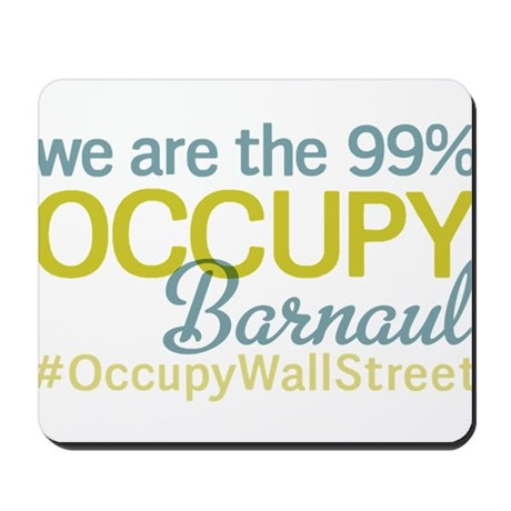 Occupy Barnaul Mousepad