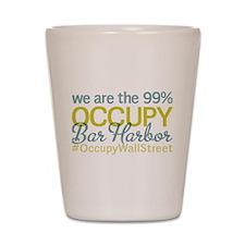 Occupy Bar Harbor Shot Glass