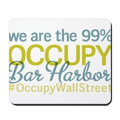 Occupy Bar Harbor Mousepad