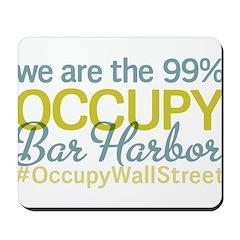 Occupy Bar Harbor Mousepad