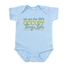Occupy Banja Luka Infant Bodysuit