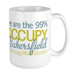 Occupy Bakersfield Large Mug