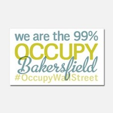 Occupy Bakersfield Car Magnet 20 x 12