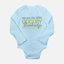Occupy Bainbridge Island Long Sleeve Infant Bodysu