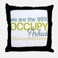 Occupy ?rhus Throw Pillow