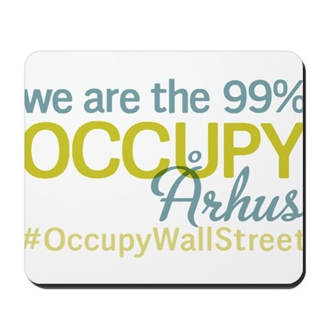 Occupy ?rhus Mousepad