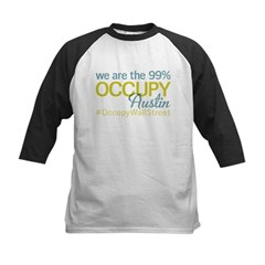Occupy Austin Kids Baseball Jersey
