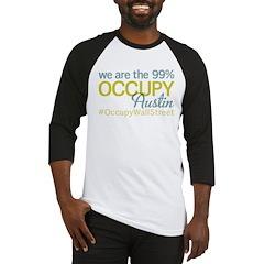 Occupy Austin Baseball Jersey