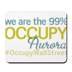 Occupy Aurora Mousepad
