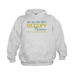 Occupy Aurora Kids Hoodie