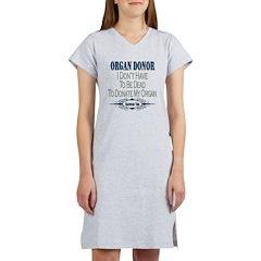 Organ Donor Women's Nightshirt