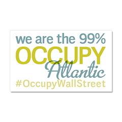 Occupy Atlantic City Car Magnet 20 x 12