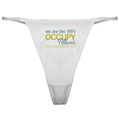 Occupy Athens Classic Thong