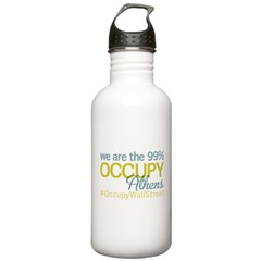 Occupy Athens Water Bottle