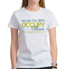 Occupy Athens Women's T-Shirt