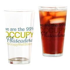 Occupy Atascadero Drinking Glass