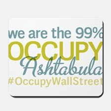 Occupy Ashtabula Mousepad