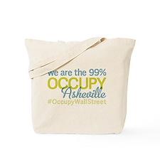 Occupy Asheville Tote Bag