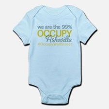 Occupy Asheville Infant Bodysuit